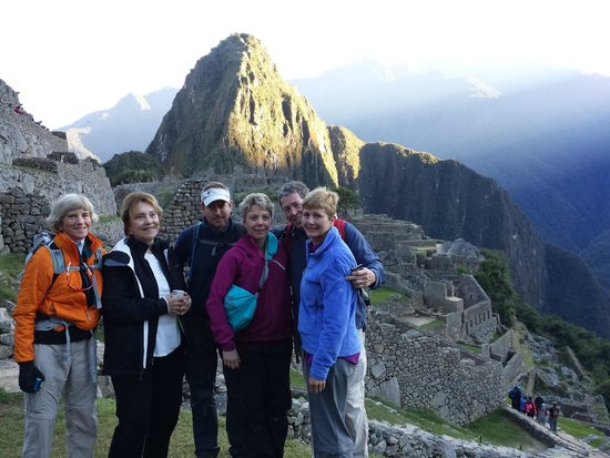 South Adventure Peru Tours: Dean, Becky and Friends