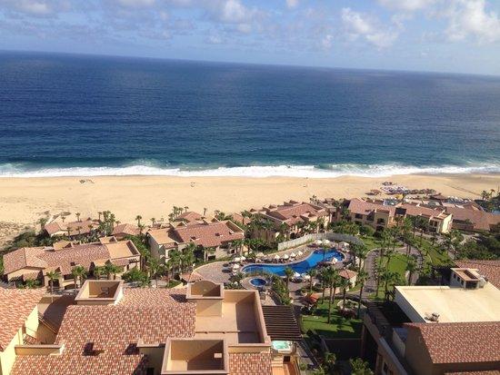 Pueblo Bonito Sunset Beach Golf & Spa Resort: Resort view from the sky pool
