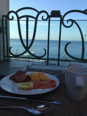 Hyatt Regency Nice Palais de la Mediterranee: Nice place to have breakfast