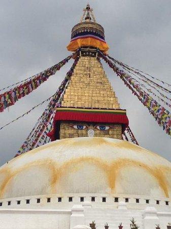 Stûpa de Bodnath : buddha