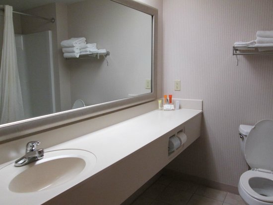 Magnuson Grand Hotel Lakefront Paradise : Bathroom Sink
