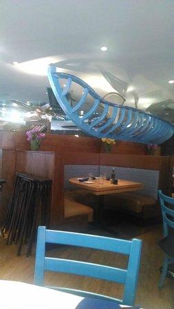 Santorini Estiatorio: Restaurant interior