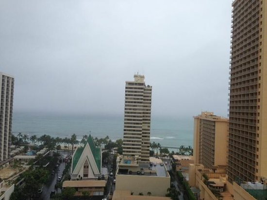 Ocean view from 20th floor