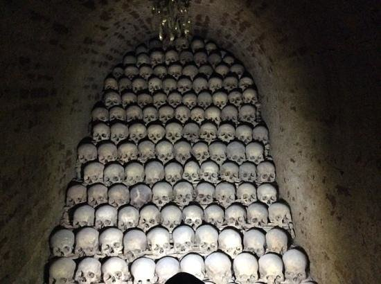 Ossuary underneath the Church of St. James: who were all these people?