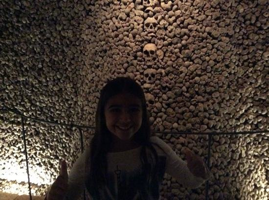 Ossuary underneath the Church of St. James: Suitable for 9 year olds