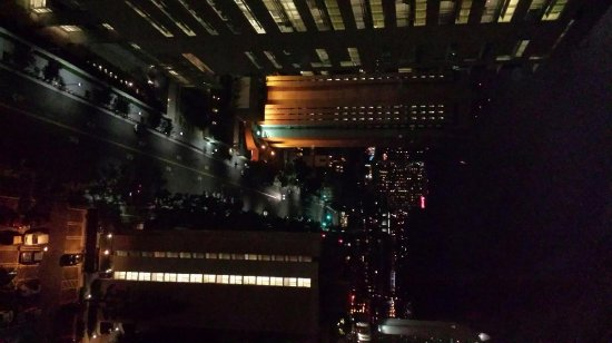 The Westin San Diego: night view from room