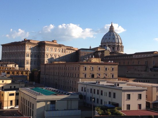 A View of Rome: Vista dal BB