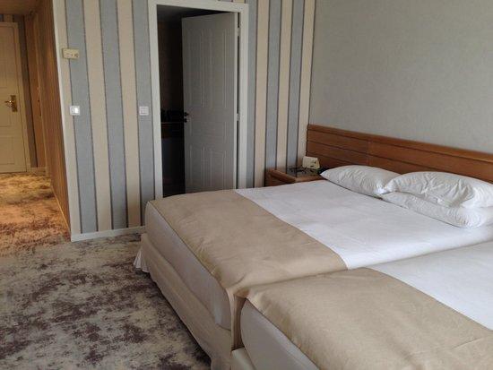 Holiday Inn Nice - Saint Laurent Du Var : Room with beds
