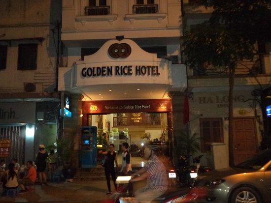 Golden Rice Hotel Hanoi: exterior of hotel