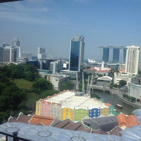 Novotel Singapore Clarke Quay: View from the 17th storey