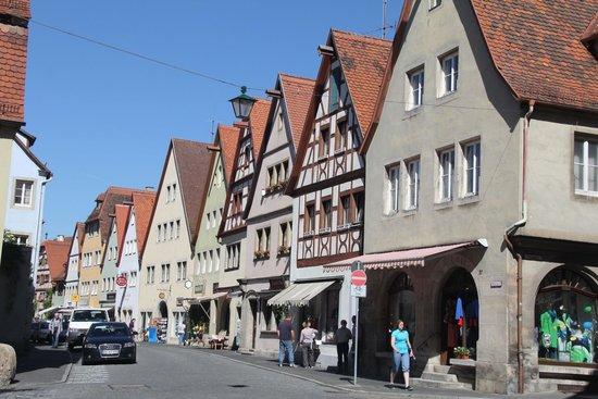 Altstadt: Beautiful town streets