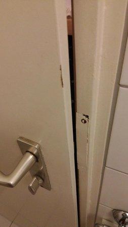 Ambiente Hotel: Badezimmertür