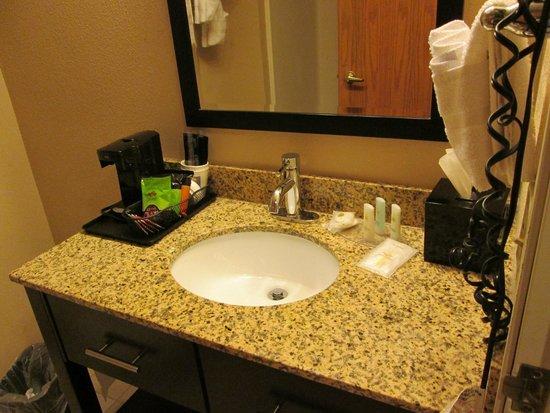 Comfort Inn & Suites Tinley Park IL: bathroom