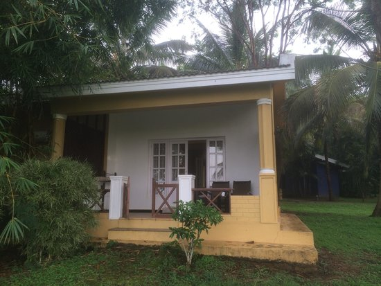 The Serai Kabini: View of the cottage