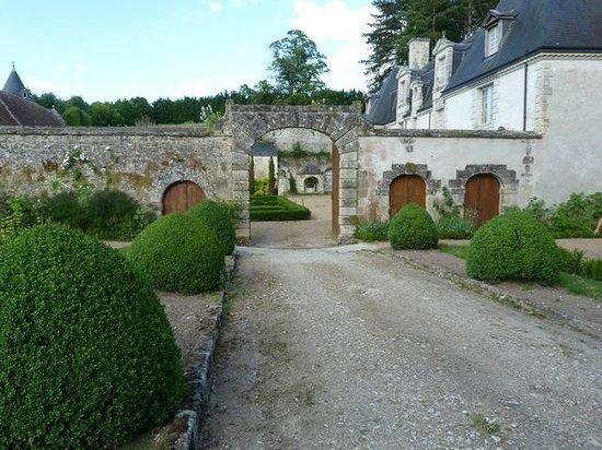 Jardins et château de La Chatonnière : jardins de la chatonnière
