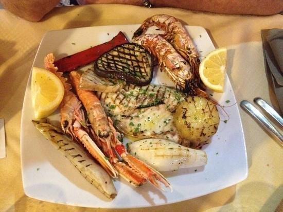 Osteria Vico del Rame : grillade de poissons