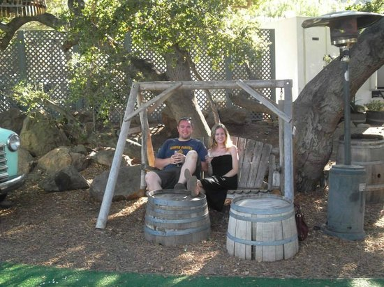 Malibu Family Wines: Relaxing atmosphere