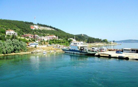 Kilitbahir Castle: ferry pier