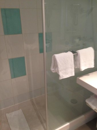 Novotel Wien City: Walk in shower