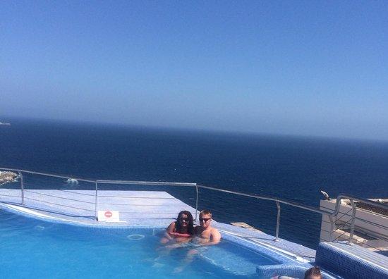 Servatur Puerto Azul : The hot tub amazing views beautiful