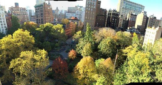 Gramercy Park Hotel: Fall Park View