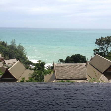 Ayara Kamala Resort & Spa : View from the edge of our private infinity pool