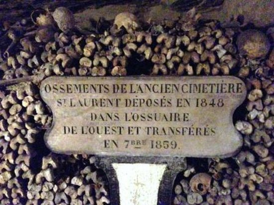 The Catacombs: Description of where the bodies came from