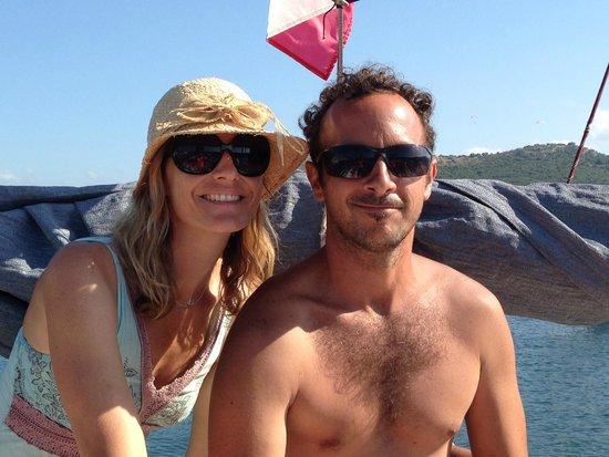 Shaka Sailing : Sonia and Luca