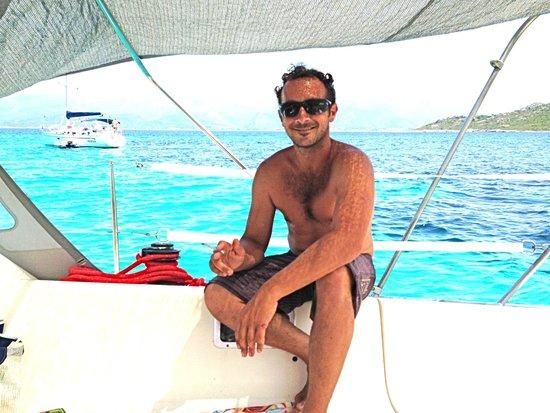 Shaka Sailing : Luca, the skipper