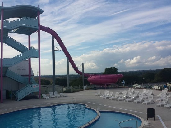 Combe Haven Holiday Park - Haven: water slide
