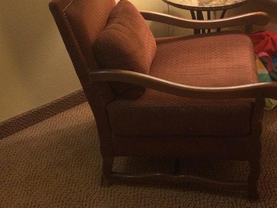MCM Elegante Lodge & Resort: Old dirty chair