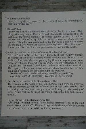 Nagasaki Peace Memorial Hall for the Atomic Bomb Victims: Memorial Hall