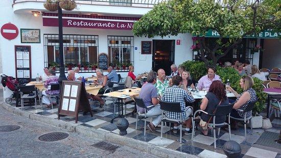 Restaurante La Nina : Très belle terrasse