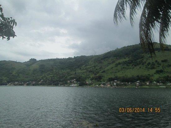 Lake Toba: view of sky
