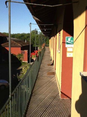 Cascina Maiocca : il Corridoio