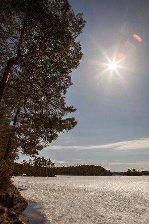 Roemskog Spa & Resort : Ice covered lake