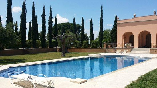 Villa Loggio Winery and Boutique Hotel: Pool area