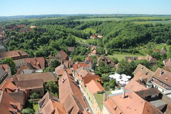 Rothenburg Town Hall (Rathaus): Views from tower