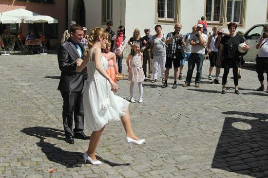 Rothenburg Town Hall (Rathaus): Wedding