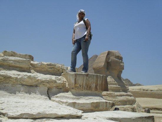 Sphinx : Preparem sua água mineral e fôlego para caminhar, mas vale muito a pena.