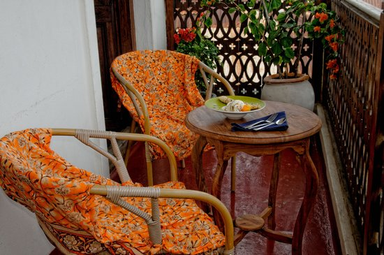 Zanzibar Palace Hotel : Romantic Suite Sultana - Balcony