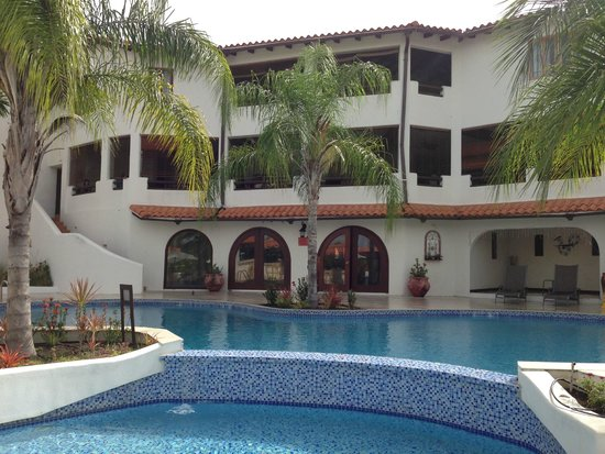 Sugar Cane Club Hotel & Spa: Main complex from the pool area