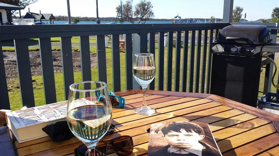South Coast Retreat: A relaxing wine or two.