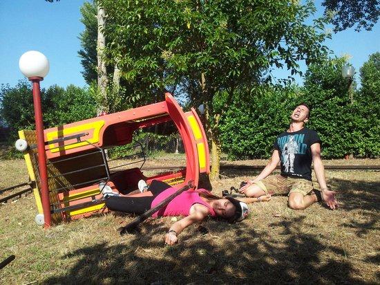 Calcinaia, Italia: Green Park tutta un'altra storia