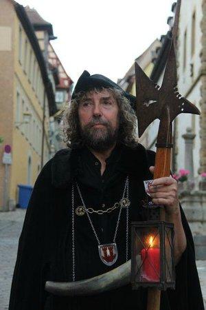 Führung mit dem Rothenburger Nachtwächter: Night Watchman