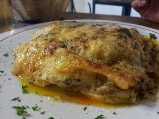 Au Stade - Pzzeria et Restaurant : Lasagne alla bolognese