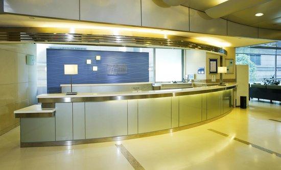 Holiday Inn Express Hong Kong Causeway Bay: Hotel Lobby - Reception Desk