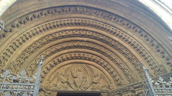 Cathédrale Saint-Étienne (Stephansdom) : Eingangsportal, Stephansdom, Wien