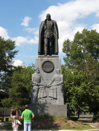 Monument to Admiral Alexander Kolchak