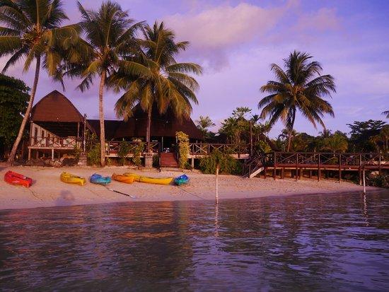 Le Lagoto Resort & Spa : Le Lagoto from the beach